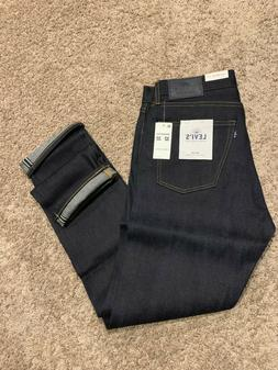 LEVI'S MADE & CRAFTED Japanese Selvedge Jeans Blue Tack Slim