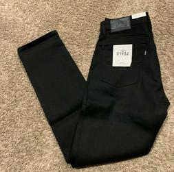 LEVI'S MADE & CRAFTED Japanese Selvedge Jeans Black Tack Sli