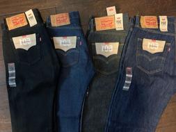 Levi's Men's 501 Original Fit Shrink to Fit Jeans Straight L