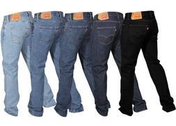 Levi's Men's 501 Original Fit Jeans Straight Leg Button Fly