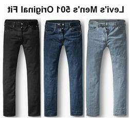 Levi's Men's 501 Original Fit Jean 100% Cotton Button Fly