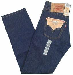 Levi's Men's 501 Original Shrink-to-Fit Jeans 501-0000 Blue