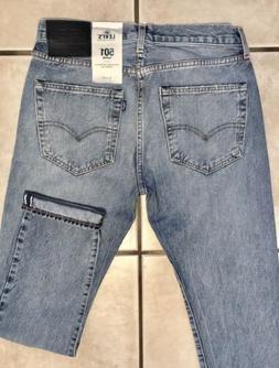 Levi's Men's 501 Taper Selvedge Jeans sz. 31 x 32 Reg $188