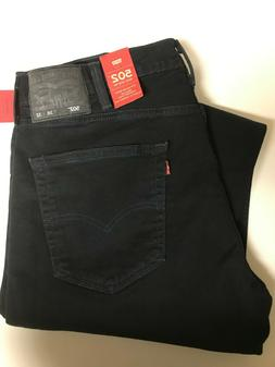 Levi's Men's 502 Jeans $27 OFF Size 38 x 32 Reg Taper Stretc