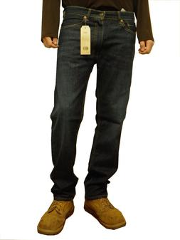 Levi's Men's 505 Regular Fit Straight Leg Jeans Dark Wash Bl