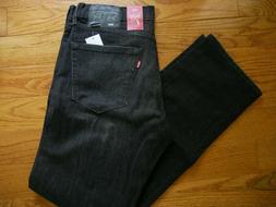 Levi's Men's 505 Regular Fit Straight Leg Jean 38 x 34 NEW S