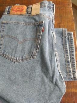 Levi's Men's 505 Regular Straight Leg Jeans  40 x 32 NWT  Re