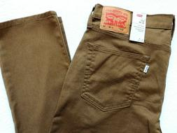 Levi's Men's 511 Slim Advanced Stretch Jeans, Rich Brown