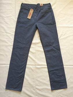 Levi's Men's 514 Jeans Blue Straight Leg Size 32 X 34 NEW Wi