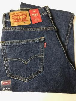 Levi's Men's 550 Relaxed Fit Jeans Size 29, 32, 34, 36 or 38