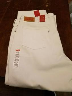 Levi's Men's Big & Tall 541 Athletic Fit jeans, White, 46x30