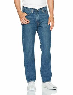Levi's Men's Made in The USA 505 Regular Fit Zipper Fly Jean