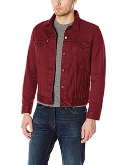 Levi's Men's The Trucker Jacket, Pomegranate, XXL