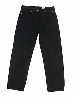 Levi's NEW Black Men's Size 35X32 550 Tapered Relaxed Fit Je