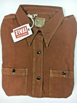 Levi's Vintage Collection LVC Deluxe Shirt Brown Levi's Vint