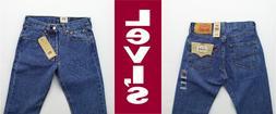 Levis 501 Jeans Men's Levi's Original Fit Straight Leg Denim