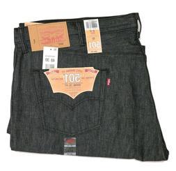 Levis 501 Jeans Original Shrink-to-Fit Rigid Dark Charcoal G