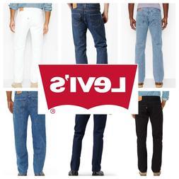 Levis 501 Original Fit Men's Jeans Straight Leg Levi's Butto