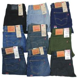Levis 511 Mens Jeans~~~Slim/Skinny Fit~~~Stonewash, Blue, Bl