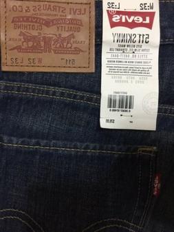 Levi's 511 Skinny Jeans Men's Sz 32. W.32  NWT FOR SALE