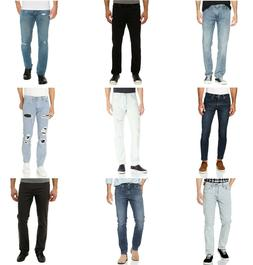 Levis 511 Slim Fit Jeans Mens Slim Slightly Tapered Leg Low