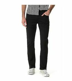 Levis 511 Slim Fit Zip-Hem Stylo Denim Stretch Jeans Black