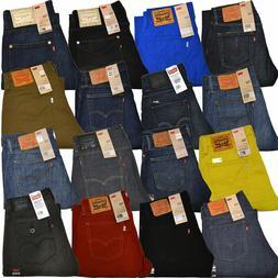 Levis 514 Jeans Slim Straight Leg Mens Stonewashed Denim 29
