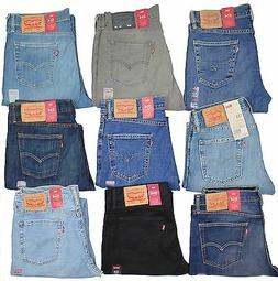 Levis 514 Mens Jeans Slim Fit Straight Leg Many Sizes Many C