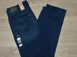 LEVIS 550 Relaxed Fit Jeans Comfort Stretch Big & Tall Dk Bl