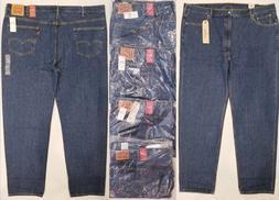 Levis 550 Relaxed Fit Mens Big & Tall Jeans Dark Stonewash B