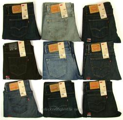 Levis 569 Jeans New Mens Loose Fit Straight Leg Levi's Relax