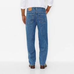 LEVIS Levi's Men's 560-4891 Comfort Fit Jeans Medium Stonewa