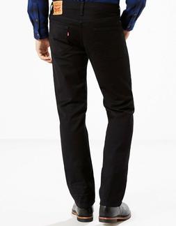 Levis Men's 514 Regular Fit Straight Leg Jeans Dark Blue Den