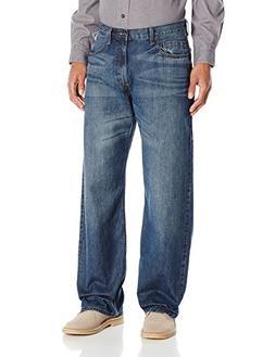 Wrangler Authentics Men's Authentics Premium Loose Fit Strai