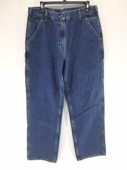 Carhartt Loose Original Fit Jeans Carpenter Work Dungaree 34