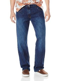 Dickies Men's Loose Straight 5-Pocket Jean, Heritage Medium