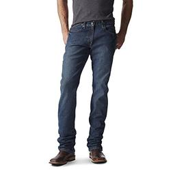 0db68417a1d Ariat Men's M4 REBAR Low Rise Bootcut Stretch Jean, Carbine,
