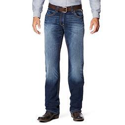 Ariat Men's M4 Low Rise Boot Cut Jean, Cadet, 42W x 36L