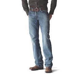 Ariat Men's M4 Low Rise Boot Cut Jean, Scoundrel, 34x32
