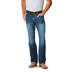 Ariat Men's M4 Low Rise Boot Cut Jean, Stretch Freeman, 33X3
