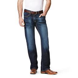 Ariat Men's M4 Low Rise Boot Cut Jean, Adkins Turnout, 34X32