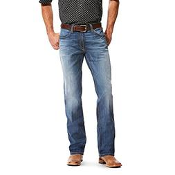 Ariat Mens M4 Low Rise Single Arch TekStretch Boot Cut Jean