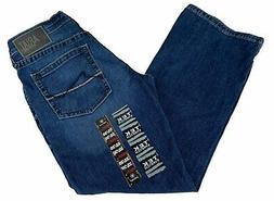Ariat M5 Men's Slim Boot Cut Jeans, Medium Wash, 32x30
