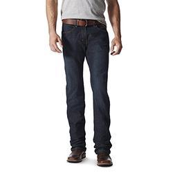 Ariat Men's M5 REBAR Slim Straight Cut Stretch Jean, Blackst