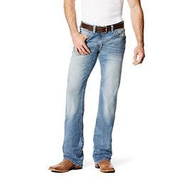 Ariat Mens M5 Slim Blake Stretch Boot Cut Jean 35 36 Shasta