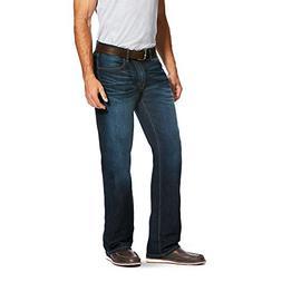 Ariat Men's M5 Slim Boot Cut Jean, Stretch Durham, 34X32