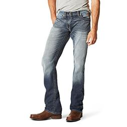 Ariat Men's M5 Slim Fit Straight Leg Jean, Davis Atlantic, 3