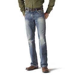 Ariat Men's M5 Slim Boot Cut Jean, Gambler, 38x32