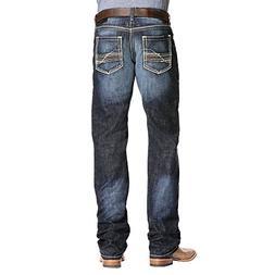 Ariat Men's M5 Slim Straight Leg, Taylor Diablo, 34 X 36