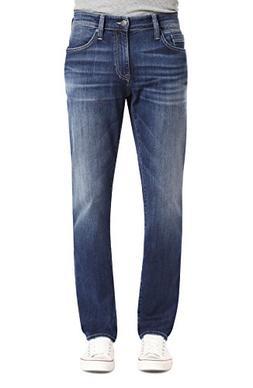 Mavi Men's Marcus Slim Straight Leg Jeans, Dark Blue Willams